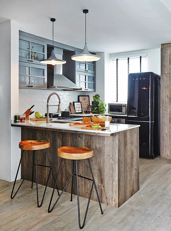 Great openconcept kitchens in HDB flats and apartments
