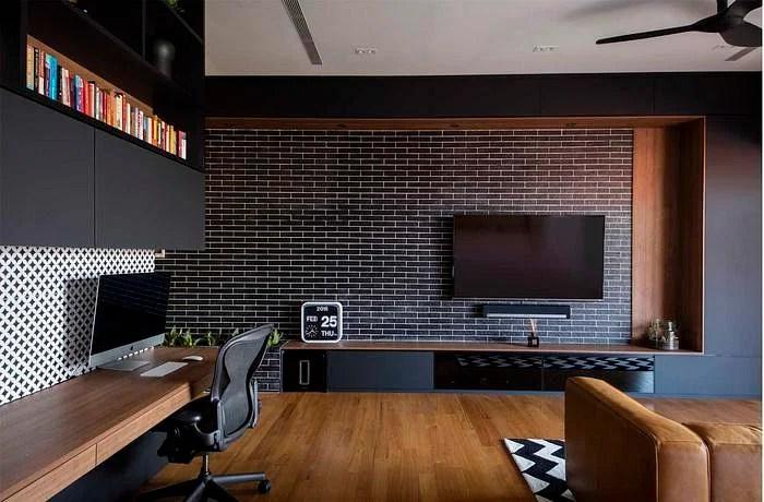 5 Modern And Geometric Tv Console Designs Home Amp Decor