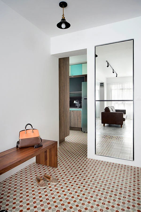6 design ideas for doing up your HDB flat entrance area