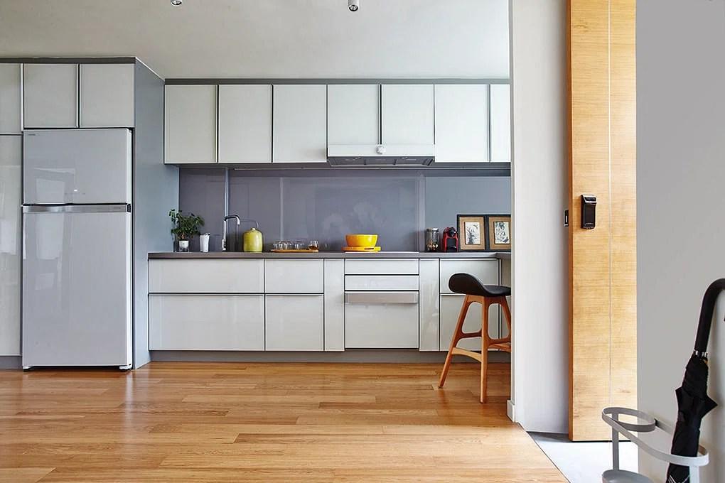 kitchen planner flooring options vinyl design ideas 7 simple streamlined practical kitchens 3