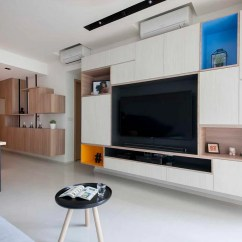 Living Room Cabinet Design Ideas Ceiling Lights Modern 7 Contemporary Storage Feature Walls 4