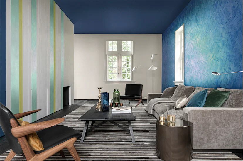 5 different paint effects for feature walls at home  Home