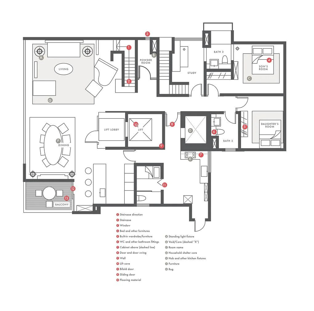 Floorplans 101: How to read them and what the symbols mean