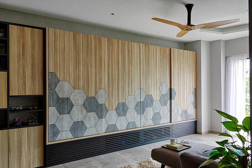 10 homes with hexagon tiles and motifs in their interior