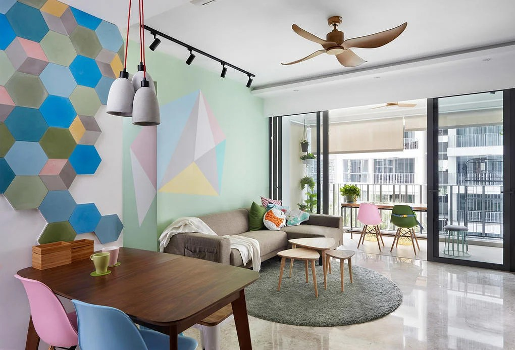 3 Homes With Cool Pastel Hues And Bright Interiors Home