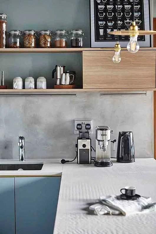 9 ideas for a nontile kitchen backsplash  Home  Decor