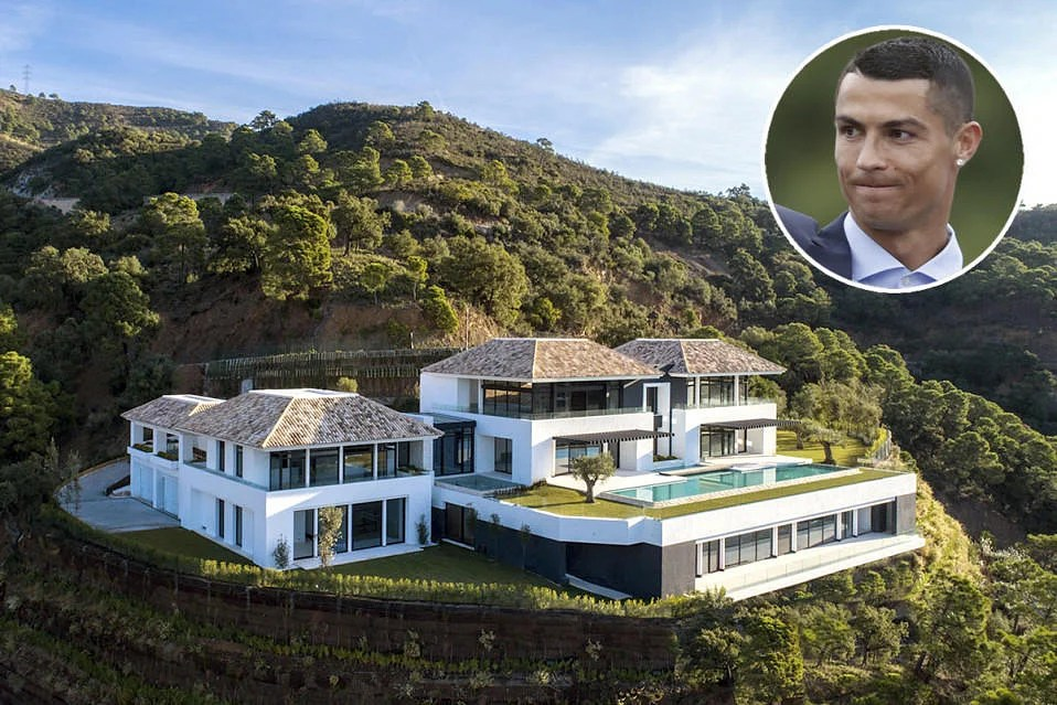 Cristiano Ronaldos mansion in Spain is stunning Take a