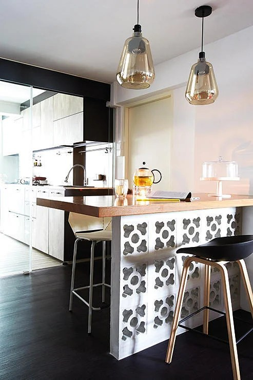 bar height kitchen island & bath 10 space-saving dining area ideas | home & decor singapore
