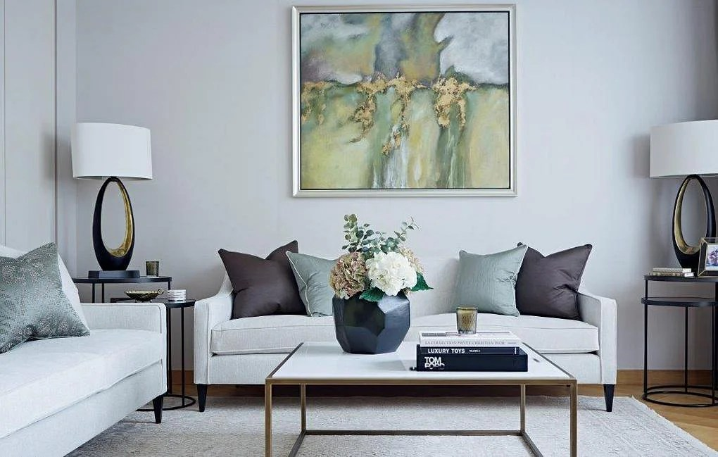 modern interior decorating ideas for living room 2 picture wall decor from this contemporary and luxurious bedroom apartment apr taylor howes kensington 1
