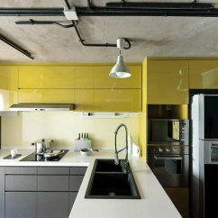 Track Lighting For Kitchen Contemporary Decor 10 Industrial-style Homes With Exposed Pipes And Trunking ...