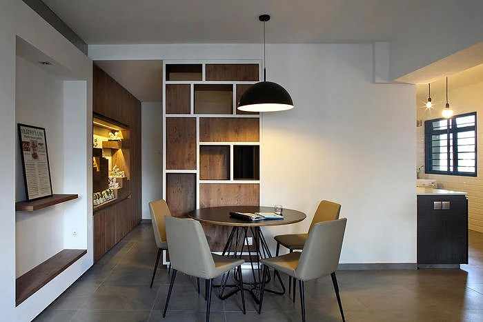 Dining Room Design Ideas Round Dining Tables In Open