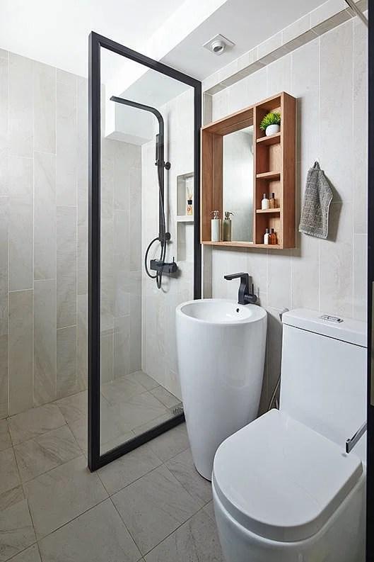 Hdb Master Bedroom Toilet Design