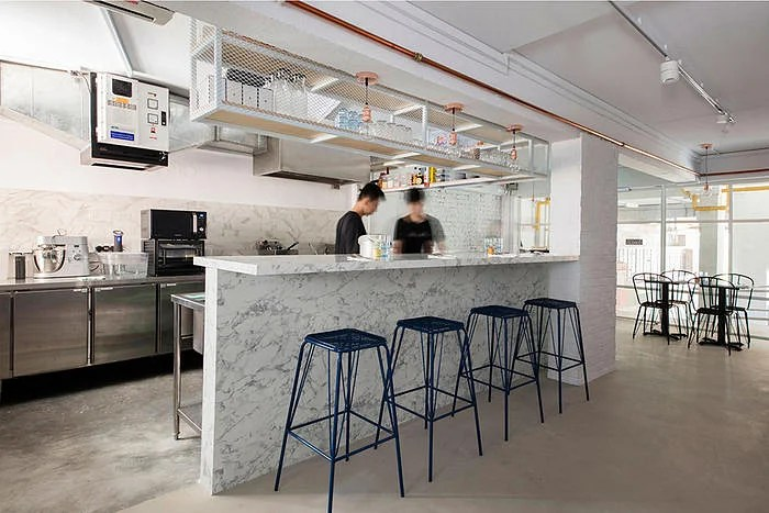 MARBLE BISTRO  CAFE  MINIMALIST INDUSTRIAL  Home