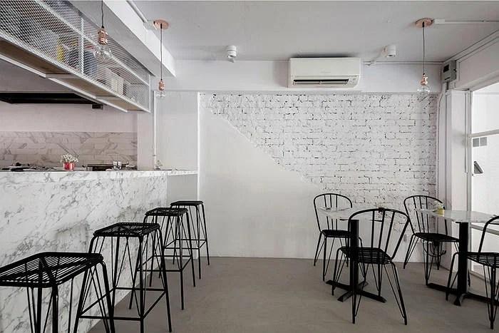 MARBLE BISTRO & CAFE // MINIMALIST INDUSTRIAL