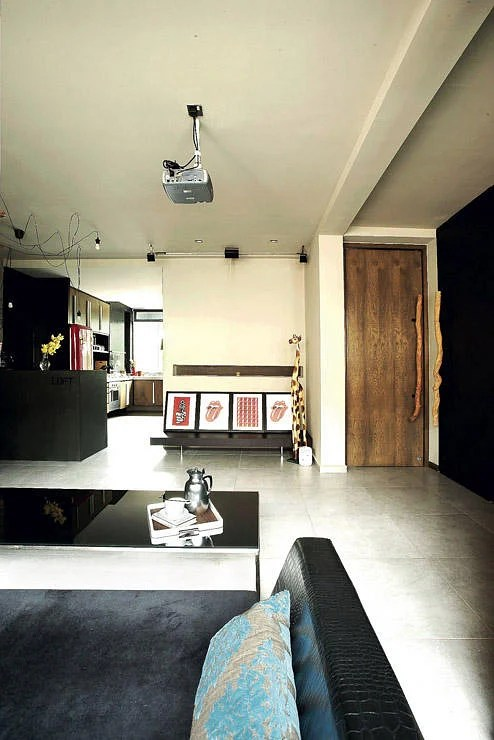 These 3room HDB flats are stylish and creative  Home