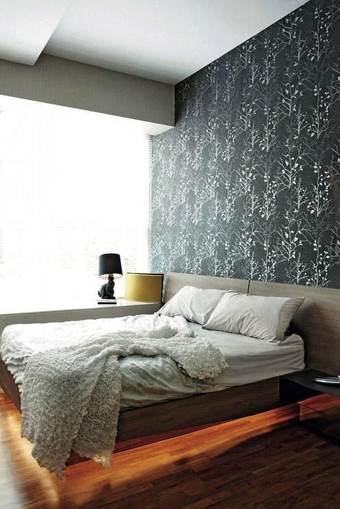 Bedroom Design Ideas 5 Bedrooms With Wallpaper Feature