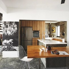 Kitchen Island Counter Pfister Pasadena Faucet Design Ideas Integrate The With A Customised Space Sense