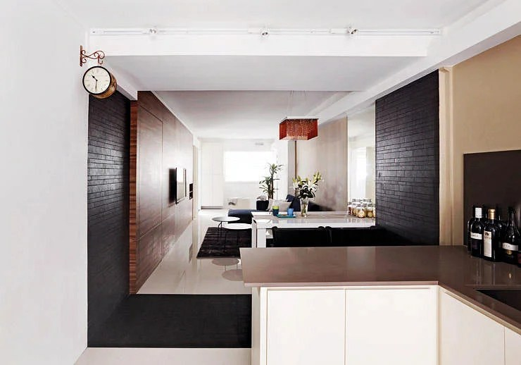 10 stylish openconcept kitchens with peninsula counters