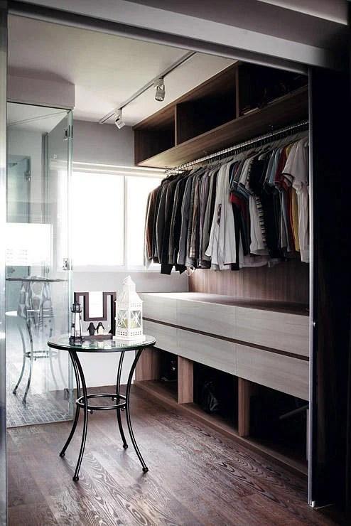 7 ways for walkin wardrobes in HDB flats  Home  Decor