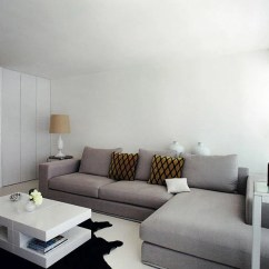 Corner Living Room Furniture Ideas Prints Design 3 Ways To Place An L Shaped Sectional Sofa Placement