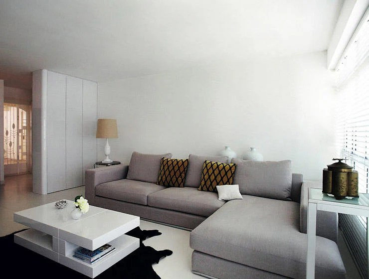 large corner sofa in small living room desk design ideas 3 ways to place an l shaped sectional placement