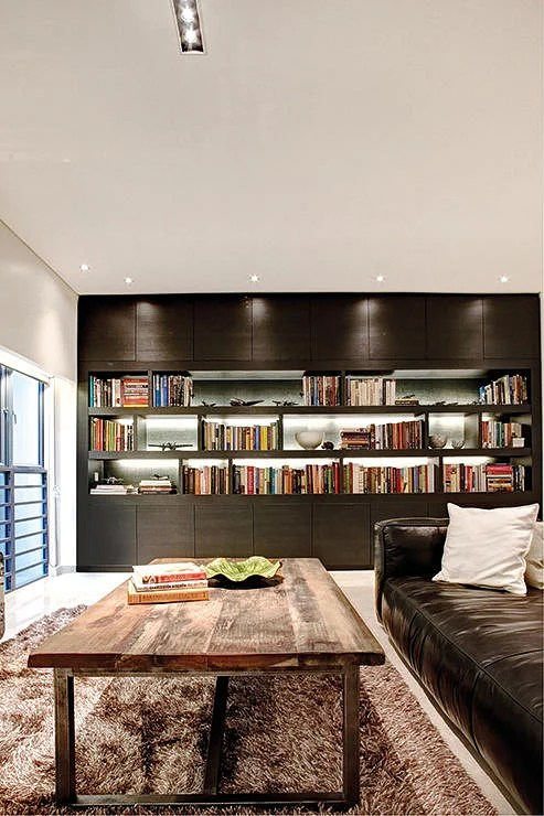 House Tour Learn Stylish Ways To Display Books From This