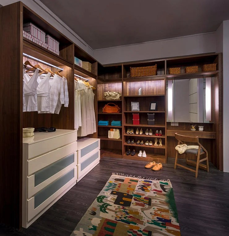 7 key features for a walkin wardrobe  Home  Decor Singapore