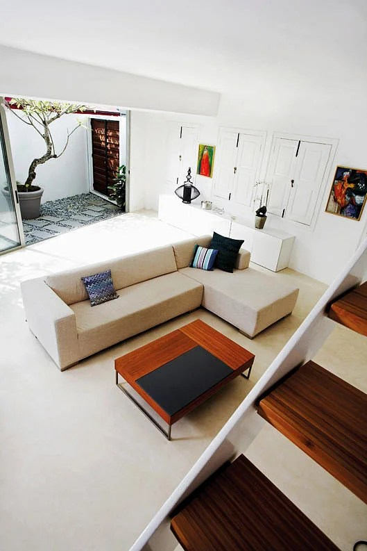 best way to place living room furniture long wall decoration design ideas 3 ways an l shaped sectional sofa middle