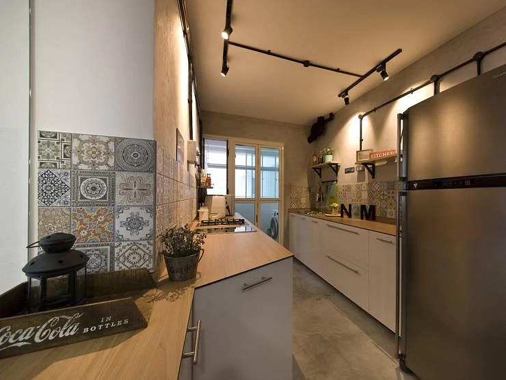 House tour Raw and modern in this 4room BTO HDB