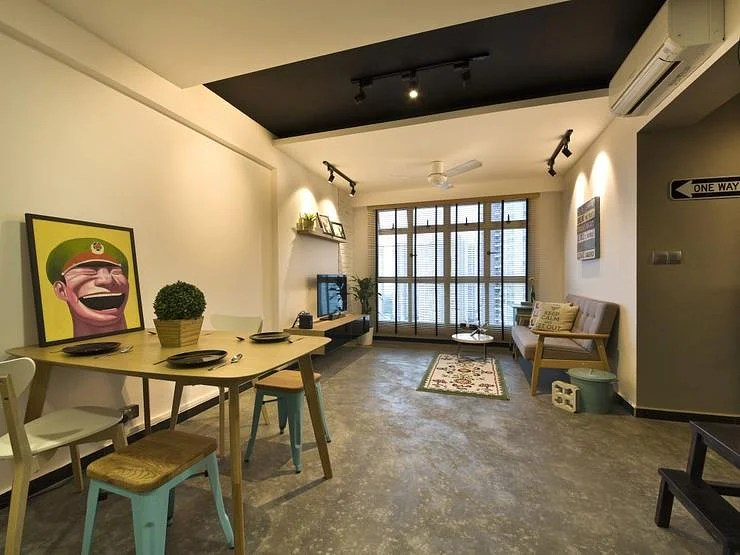 House Tour Raw And Modern In This 4 Room BTO HDB Apartment Unit