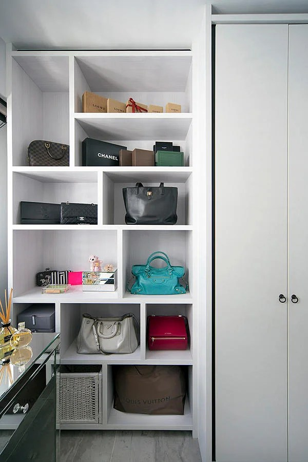 6 storage display designs for walkin wardrobes or