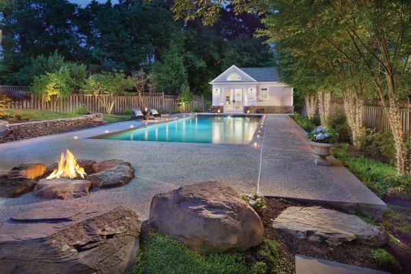 Oasis Backyard Pools Design