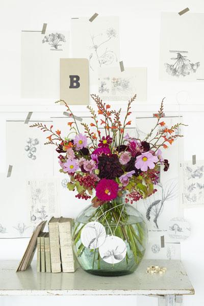 Stylen met botanische prenten  Homeandgardennl
