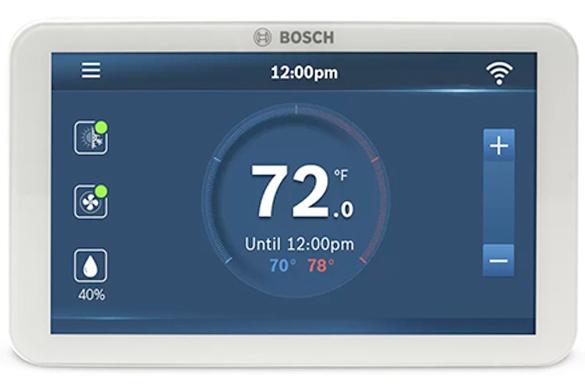 Bosch digital smart thermostat
