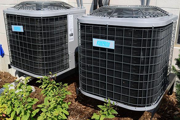 hvac external unit inspection and maintenance