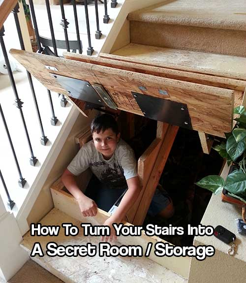 15 Secret Hiding Spots In Your Home  Home and Gardening Ideas