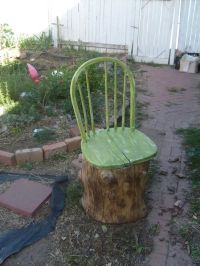 12 Ways To Repurpose Tree Stumps and logs - Home and ...