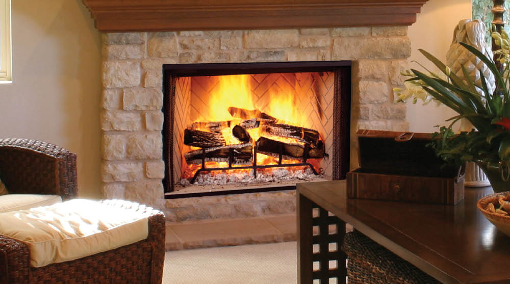 Home  Hearth  Wood Fireplaces