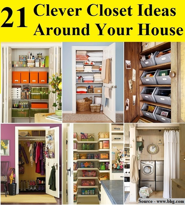 21 Clever Closet Ideas Around Your House HOME And LIFE TIPS