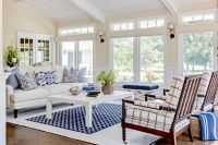 Benjamin Moore Muslin for a Contemporary Living Room with ...