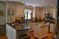 Cabico Cabinets for a Traditional Kitchen with a Tile ...