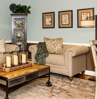 Craftmaster Furniture for a Transitional Living Room with ...