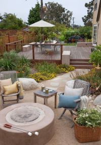 Decomposed Granite Patio for a Mediterranean Patio with a ...