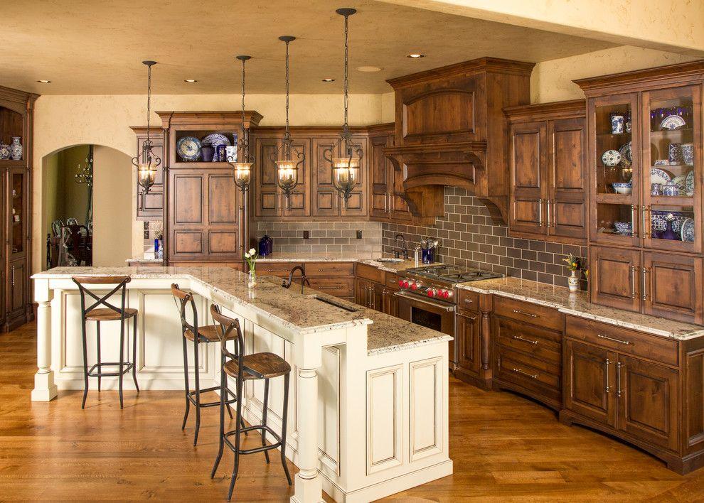 Knotty Alder Kitchen Cabinets Pictures   Dandk Organizer