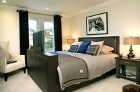 Mens Bedroom Ideas for a Contemporary Bedroom with a ...