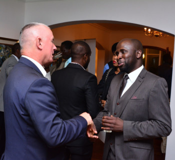 Brian Greenaway – Director, Technical Operations UPDC, Efe Utomudo – CEO Ecotrends Ltd