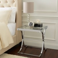 Vogue End Table - Chrome
