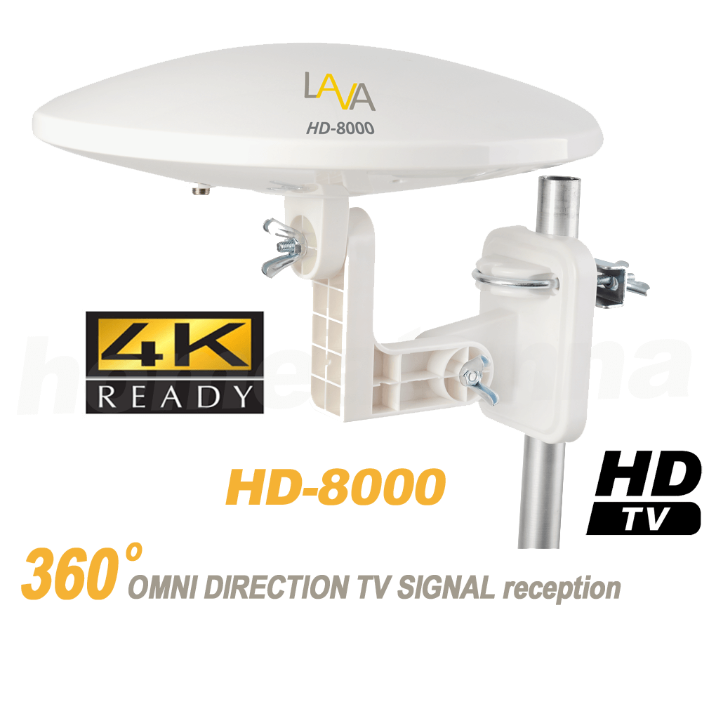 Tv Ideal: [Refurbished]Top Rated 4K Omnidirectional TV Antenna