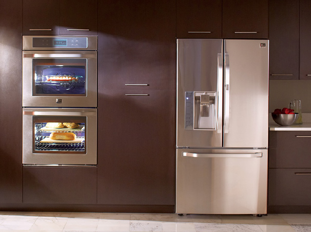 lg kitchen appliances mobile trailers special event for in dallas home world electronics usa has celebrated the retail launch of new berkus inspired studio line premium at nebraska furniture