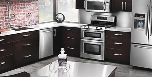 maytag kitchen appliances kohler purist faucet will be available in the best buy s offer home world whirlpool corporation announced addition of to select stores where brands kitchenaid and amana